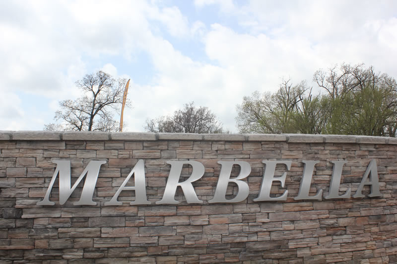 Marbella Subdivsion in Cave Springs, AR